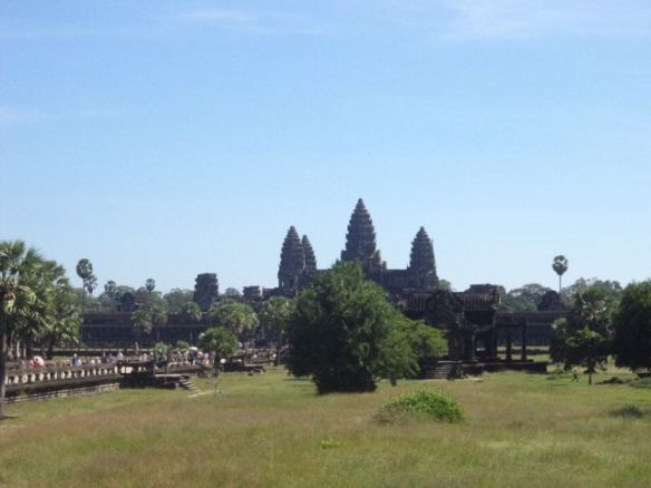 Angkor distance